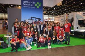 Studenti Iusve e stand Interporto Padova