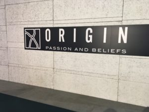 Origin Passion and Beliefs 2016