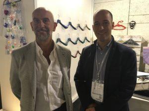 Riccardo Mazzoleni di MAS e Mattia Lorenzon di PMP Spa