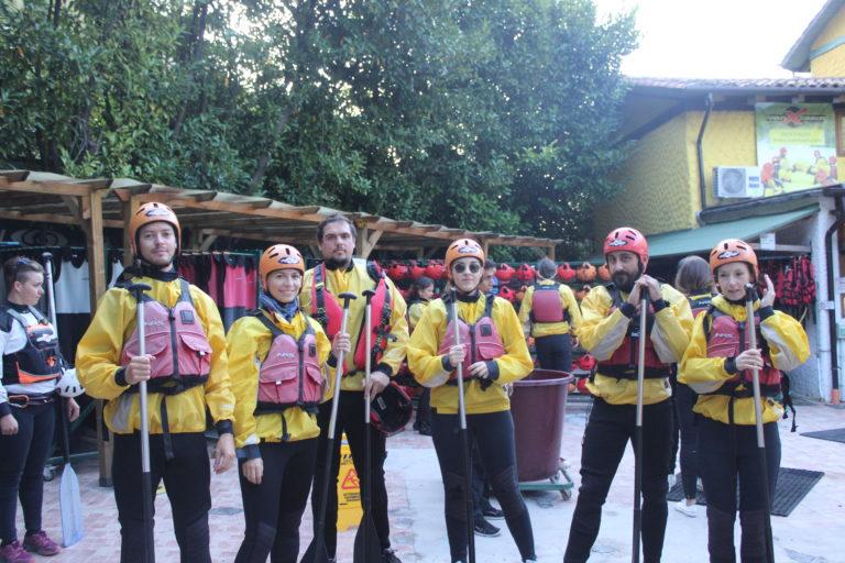 Il nostro Team Building: giornata di rafting