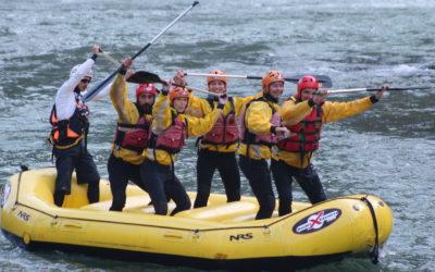 MAS rafting