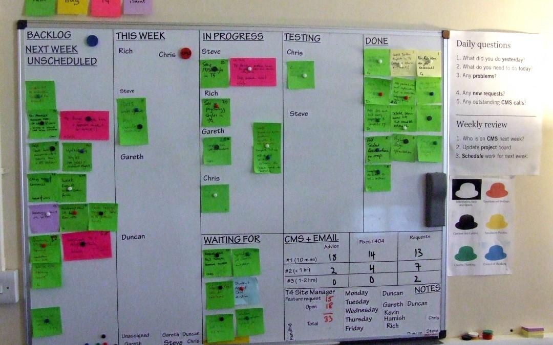 Il Visual Management come strumento di supporto alla gestione dei processi