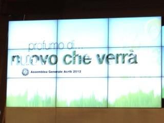Assemblea generale Acrib 2012: La ricetta per il cambiamento